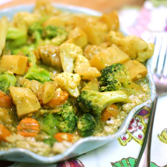 Simple Vegetable Curry Recipes — Dishmaps