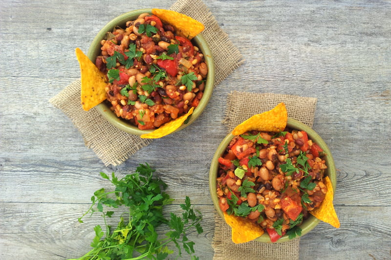 Smoky Chipotle Chili [vegan] -