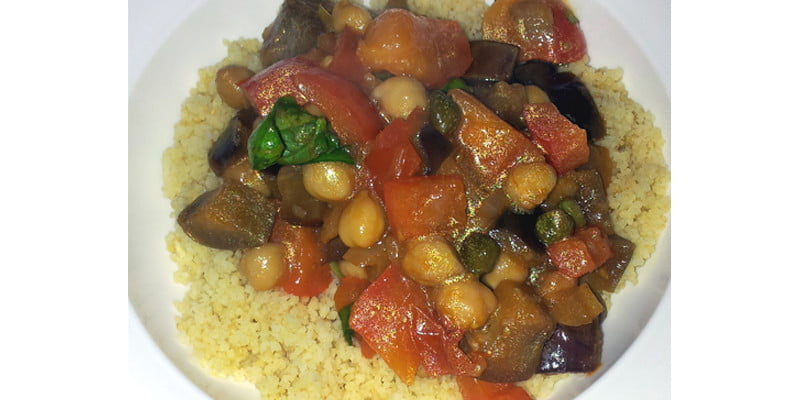 tangy vegetarian couscous
