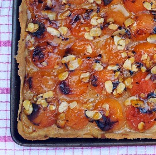 Vegan apricot tart - The Flexitarian