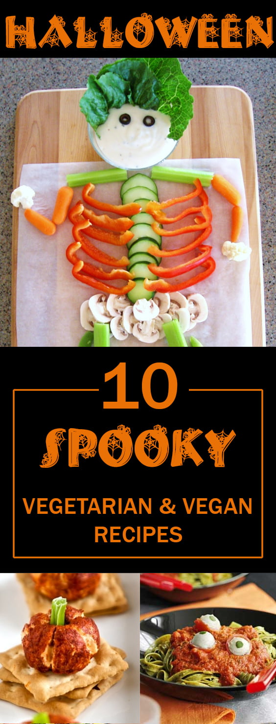 10 Best Spooky Vegetarian & Vegan Halloween Recipes