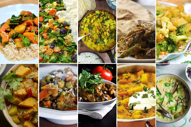 10 Best Vegetarian Curry Recipes