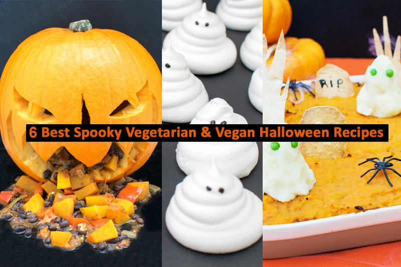6 Best Vegetarian and Vegan Halloween Recipes