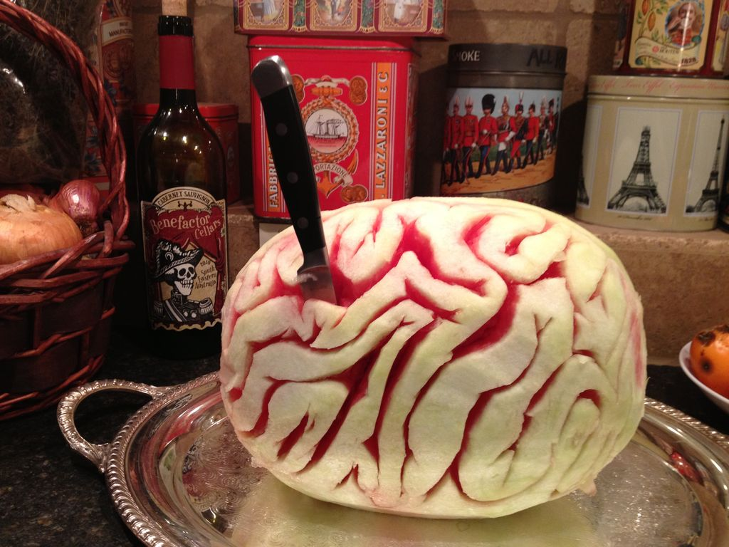 Watermelon Brain by mashcon5 via The Instructables
