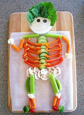 Veggie Skeleton by Feeding Frenzy