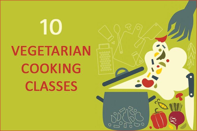 10 vegetarian cooking classes