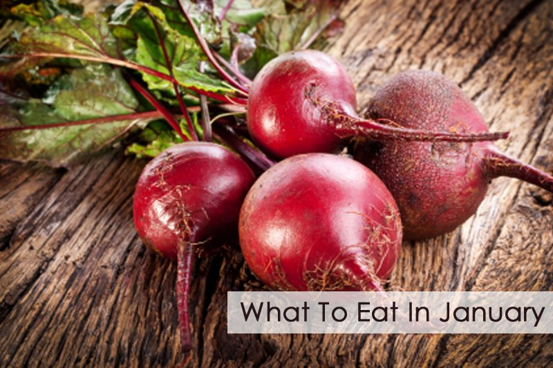 seasonal food what to eat in january