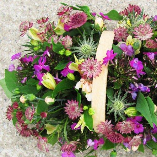 Country Garden Trug - Seasonal British Flowers Bouquet