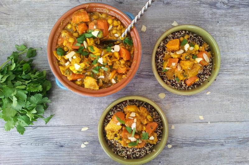 Winter Roots Quinoa Tagine