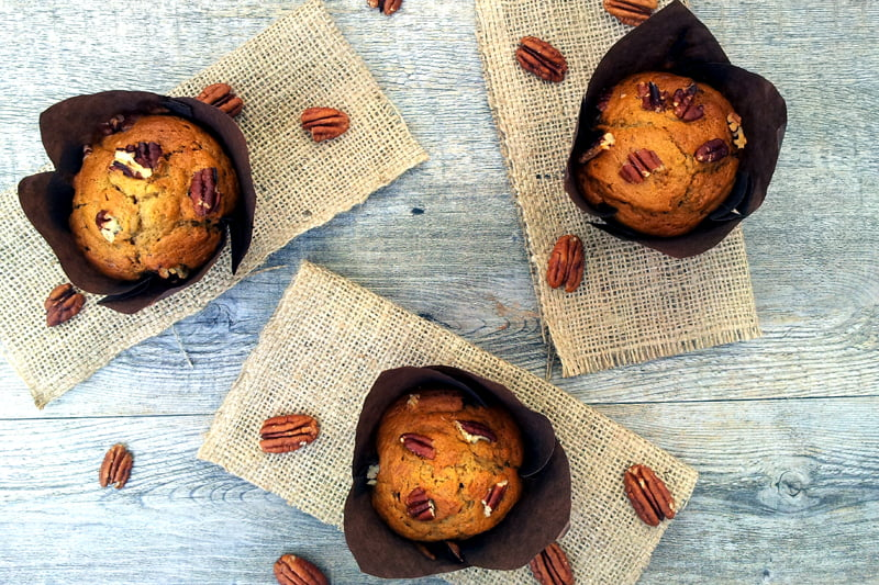 Vegan Banoffee Muffins by The Flexitarian