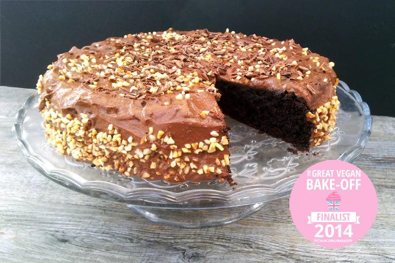 Double Chocolate Cake [vegan]