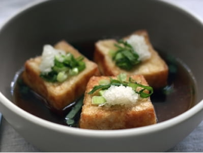 Deep Fried Tofu by Asian Supper