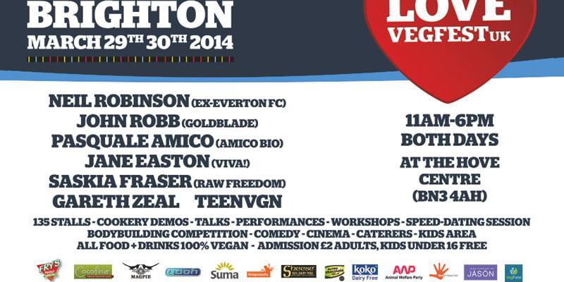 VegFest Brighton 2014