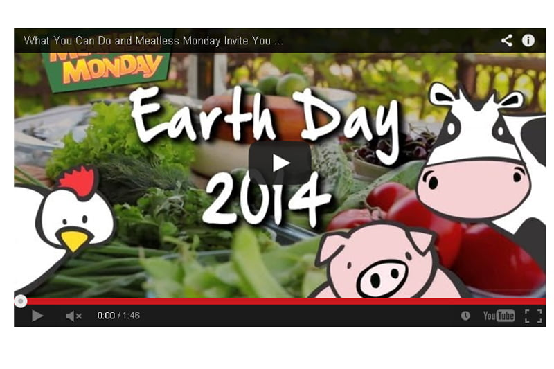 Earth Day Meatless Monday