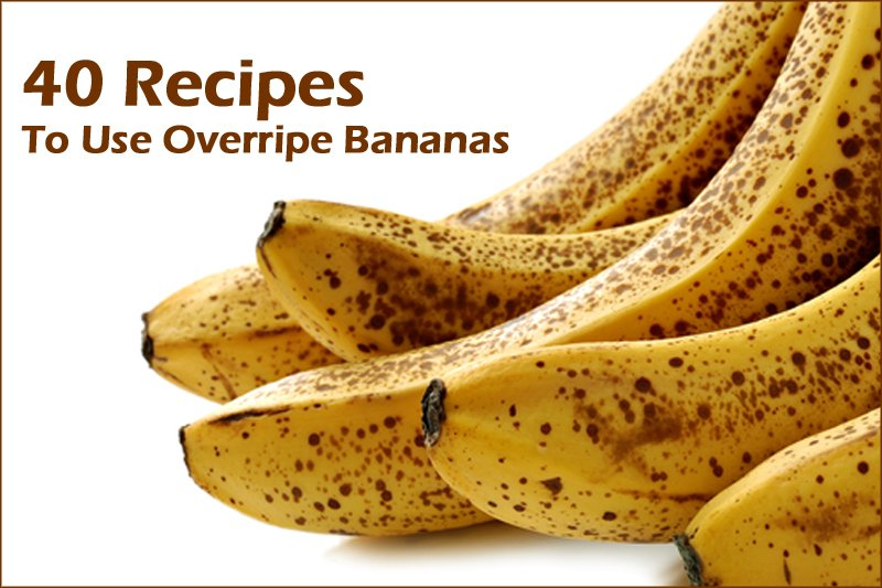 How To Use Overripe Bananas Cakes