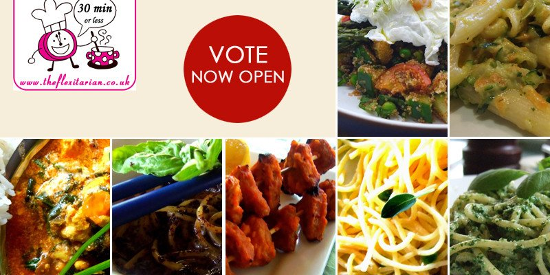30 mins or Less Vegetarian Main Course vote now