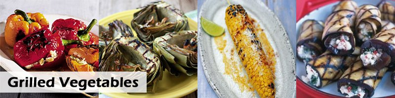 65 Recipes Barbecue Grilled Vegetables