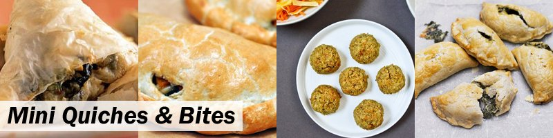45 Meat-Free Kids' Lunch Box - Quiches