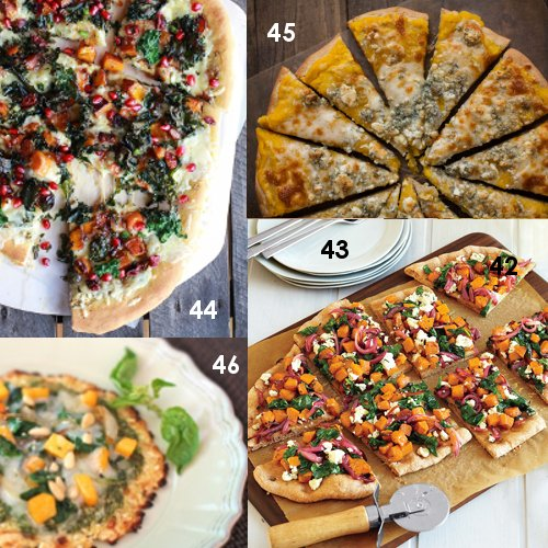 43. Butternut Squash, Spinach and Goat Cheese Pizza [vegetarian] by ...
