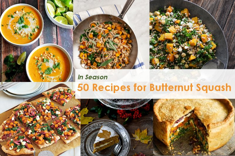 50 Recipes for Butternut Squash