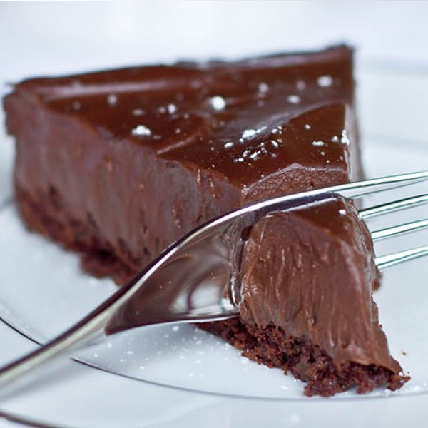 Double Chocolate Orange Torte Recipe — Dishmaps