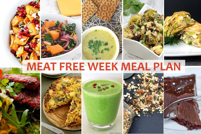 Welcome to this week's Meat Free Meal Plan. I have selected some ...