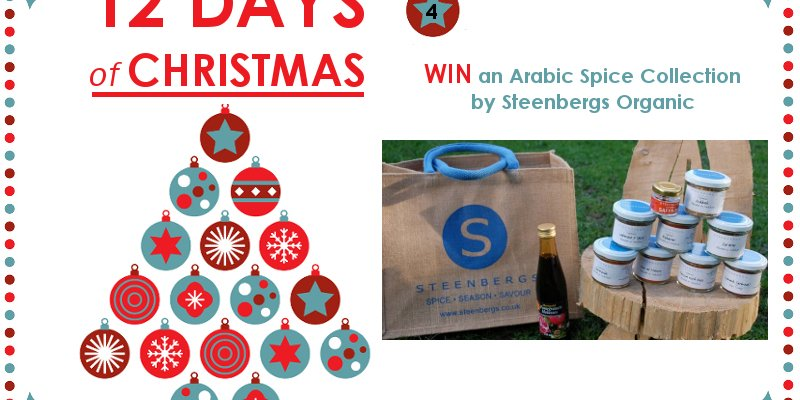 WIN an Arabic Spice Collection – 12 Days of Christmas Competition Day 4