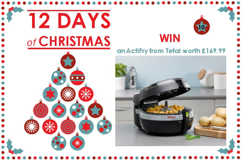 Win an ActiFry from Tefal