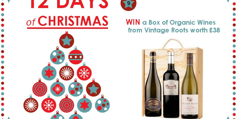 WIN a Box of Organic Wines from Vintage Roots