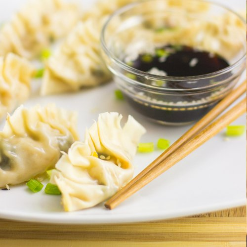 Chinese Dumplings [vegetarian] by Jessica in The Kitchen