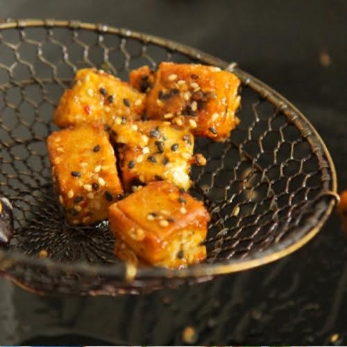 Five Spice Crispy Tofu [vegan] by Rachel Demuth