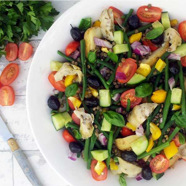 Salade Niçoise [vegan] by The Flexitarian