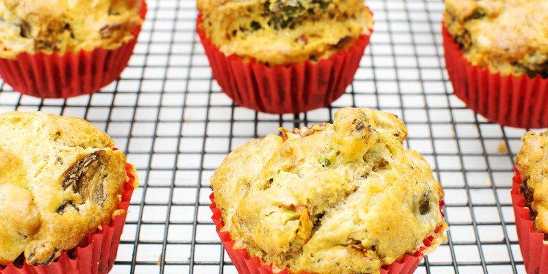 Broccoli & Stilton Muffins [vegetarian] by The Flexitarian