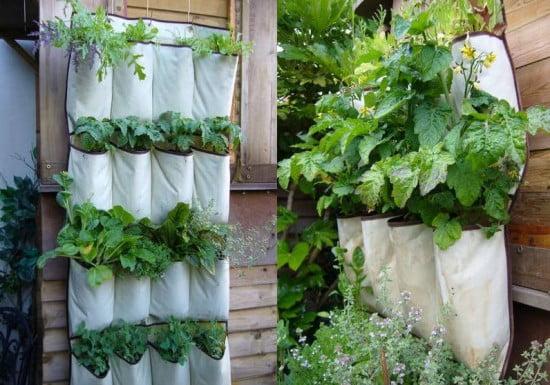 Vertical Herb Garden via Green Upgrader