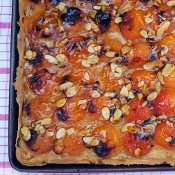 Apricot Tart [vegan] by The Flexitarian