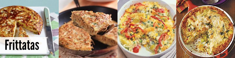 Recipes for Leftover Pasta - Frittatas