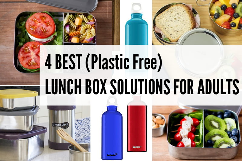 4 Best (Plastic Free) Lunch Box Solutions For Adults