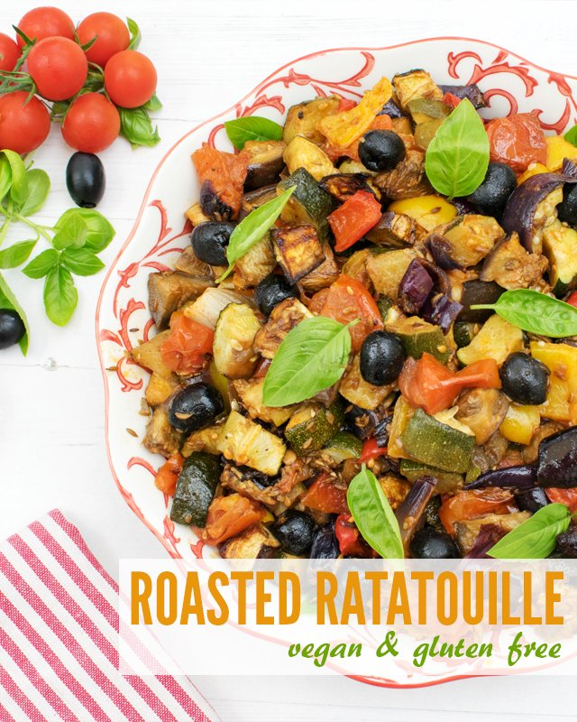 Roasted Ratatouille [vegan] [gluten free] by The Flexitarian v9