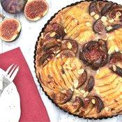 Pear & Fig Tart [vegan] by The Flexitarian