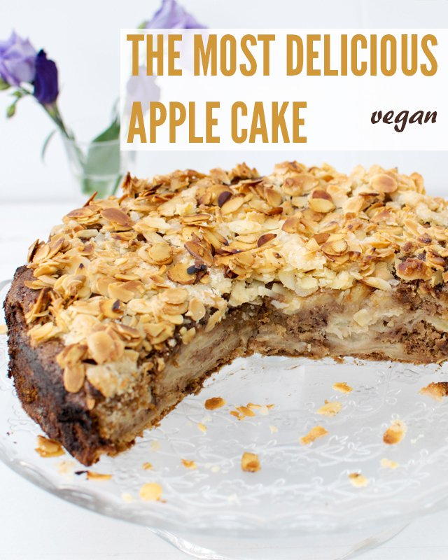 Vegan Apple And Cinnamon Cake