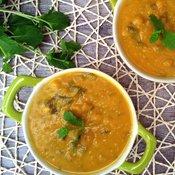 Jerusalem Artichoke, Carrot and Potato Soup [vegan] by The Flexitarian