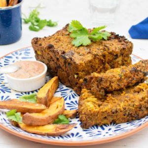 Quorn-Moroccan-Meat-Loaf-with-Creamy-Harrisa-Dressing-vegetarian-v800 ...