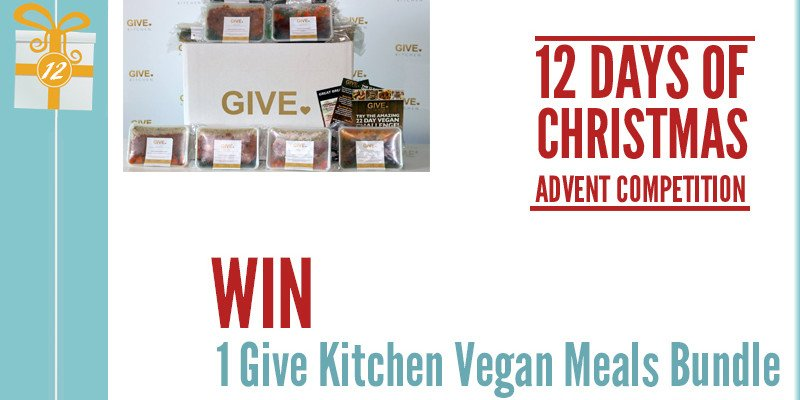 Advent Competition Day 12 - WIN 1 Give Kitchen Vegan Meals Bundle Worth £79.85