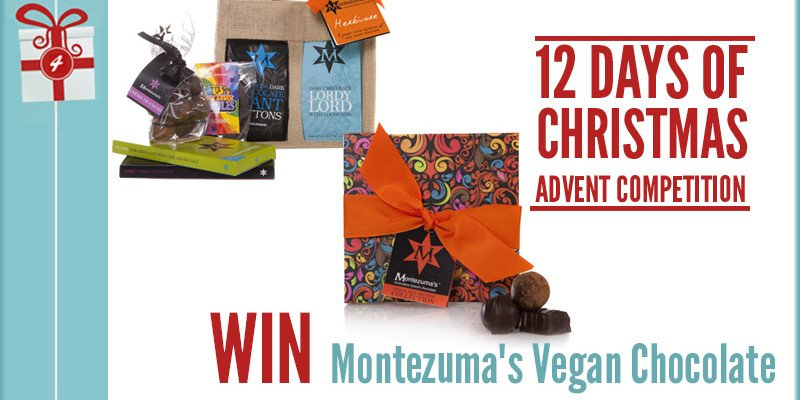 Advent Competition Day 4 – WIN Montezuma's Vegan Chocolate Treat Worth £38.98