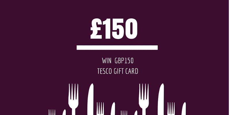 Win £150 Tesco Gift Card to Kickstart the New Year Diet