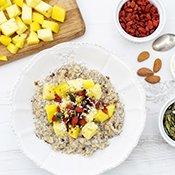 Pineapple Mango Ginger Porridge [vegan] [gluten free] by The Flexitarian