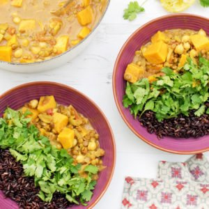 Sweet Potato & Lentil Curry [vegan] [gluten free] by The Flexitarian