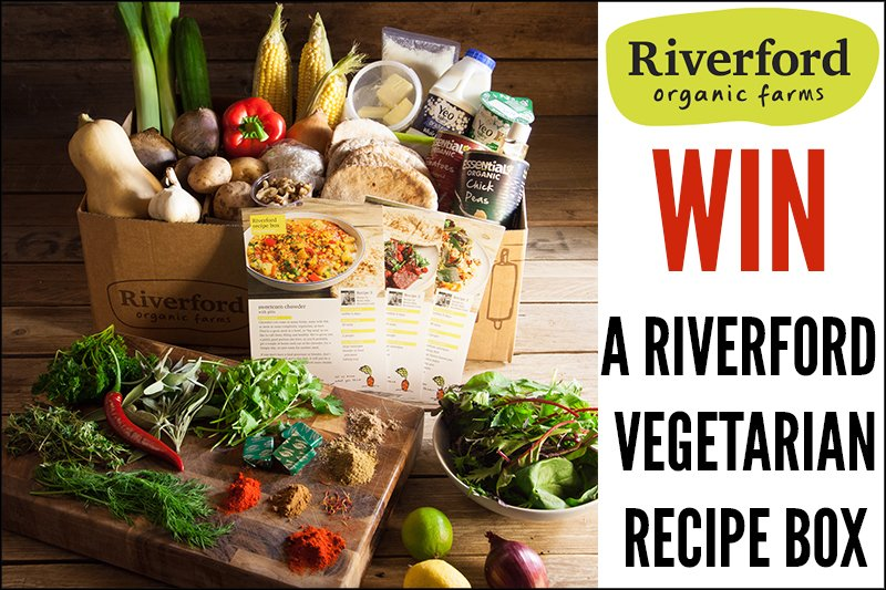 Win an organic vegetarian recipe box from riverford riverford competition feb 2016 forumfinder Gallery