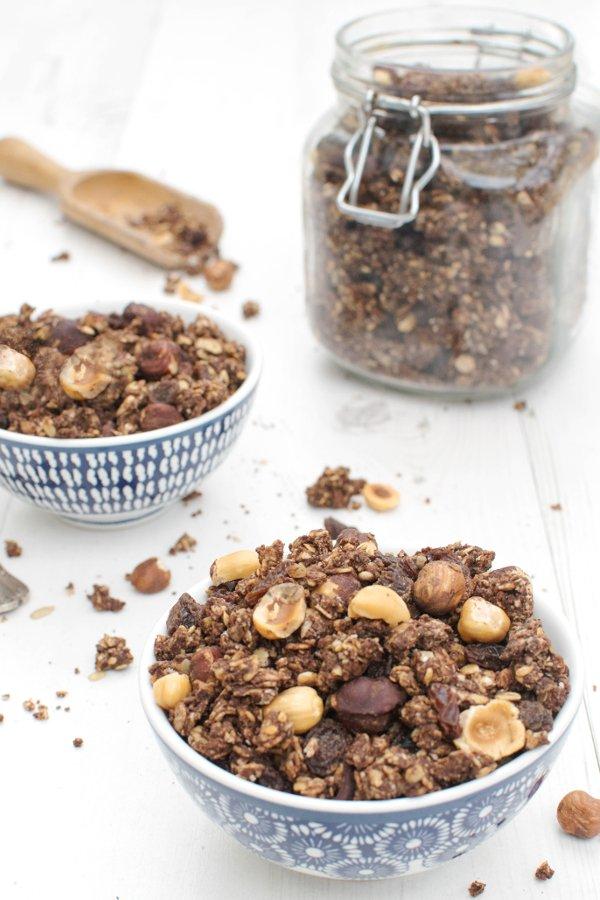 Peanut Butter & Chocolate Granola [vegan] by The Flexitarian