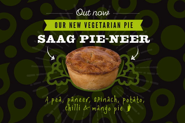 Saag Pie-neer Out now